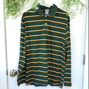 Old Navy Vintage Fit Mens Collared Long Sleeve Top